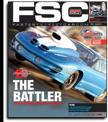 Fastest Street Car Magazine Cover December 2008